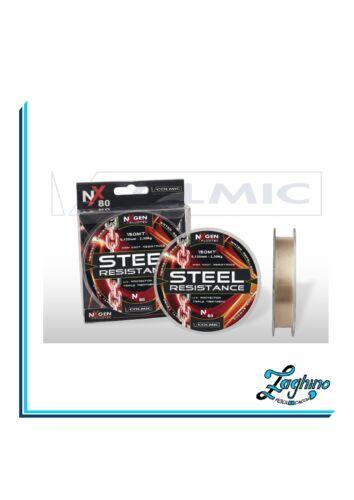 Ø0,14-/>0,30 mm Monofilo mulinello Colmic Steel Resistance mt.150