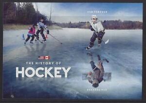 Estados Unidos 2017 History Of Hockey Autoadhesivo Hoja Miniatura Para , MNH