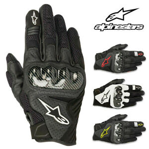 Alpinestars-SMX-1-Air-V2-Leather-Street-Motorcycle-Gloves-Men-All-Sizes-amp-Colors