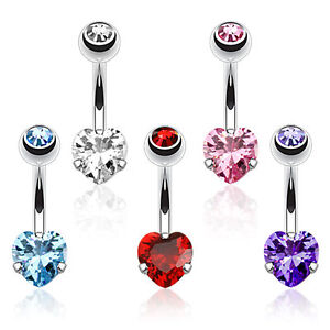 CZ-Heart-Prong-Set-Surgical-Steel-Belly-Bar-Navel-Ring