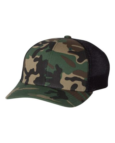 Richardson Fitted Trucker Baseball Hat with R-Flex 110 S//M L//XL