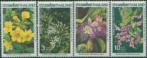 Thailand-1985-SG1218-1221-International-Correspondence-Week-Climbing-Plants-set