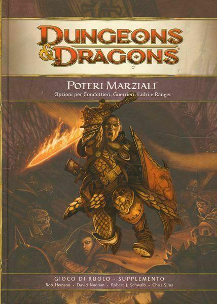 DUNGEONS & DRAGONS POTERI MARZIALI ed. Twenty Five 2008 Manuale