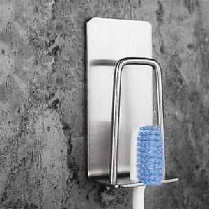 Porte-Brosse-a-Dents-Support-Rangement-de-Brosse-a-Dents-Mural-En-Acier