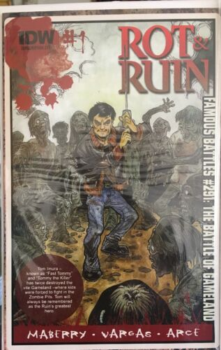 IDW 2014 OPTIONED TV//MOVIE JONATHAN MAYBERRY ROT AND RUIN #1 COVERS A /& B • NM