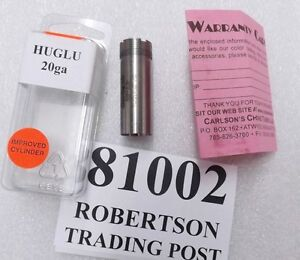 Carlsons-Huglu-20-gauge-Imp-Cyl-Choke-Tube-fits-CZ-Mossberg-Silver-Reserve-81002