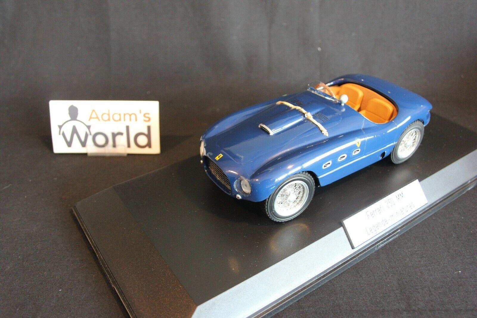 Legende Miniatures Ferrari 250 MM 1953 1 18 azul  (PJBB)