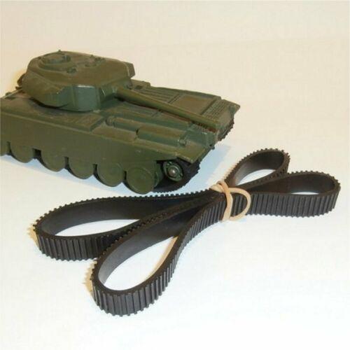 Dinky Toys 651 Centurion Tank Pair of Treads Black Tracks