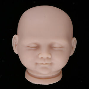 "Unpainted 19/"" Reborn Kits Silicone Newborn Baby Doll Mold Head Limb Handwork"