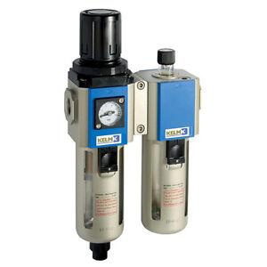 Filtre Régulateur Pression Lubrificateur Entièrement Automatique Vidange 1/4 Bsp Frissons Et Douleurs
