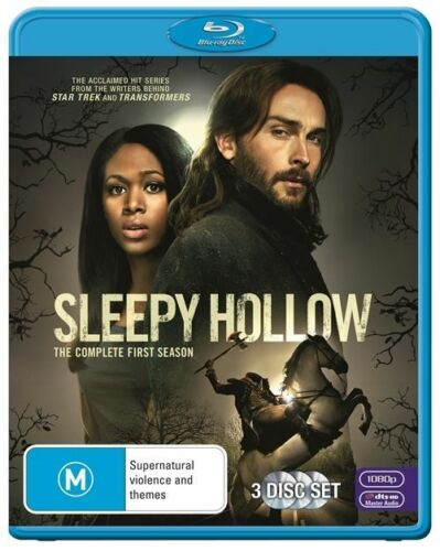 1 of 1 - Sleepy Hollow : Season 1 (Blu-ray, 2014, 3-Disc Set)*VGC*