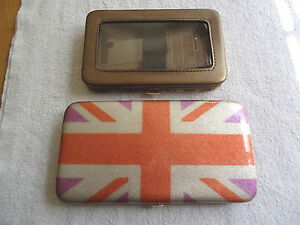 Lot-Of-2-Wallet-Phone-Cases-1-Icing-1-Silver-Buffalo-LLC-034-AWESOME-SET-034-EUC
