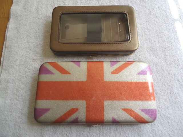 Lot Of 2 Wallet / Phone Cases,1,Icing,1,Silver Buffalo LLC