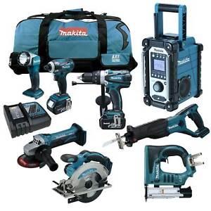 12tlg-MAKITA-18V-Profi-Akku-Werkzeug-Set-DPT351-RMJ-Stiftnagler-BPT351-RFE-RMJ