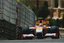 Nelson Piquet Jr Hand Signed ING Renault F1 12x8 Photo.