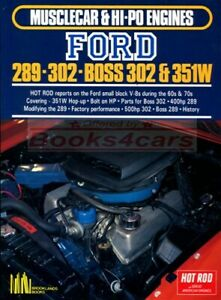 FORD-V8-SMALL-BLOCK-289-302-351-ENGINE-BOOK-HOT-ROD