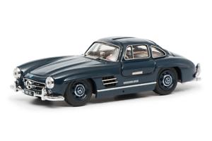 Mercedes Benz 300sl Coupé en Azul Modelo Fundido en 1 43 Escala por Schuco