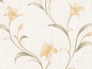 Details about BELGRAVIA MONACO GOLDEN FLOWERS ITALIAN STYL HEAVYWEIGHT  VINYL WALLPAPER GB3301