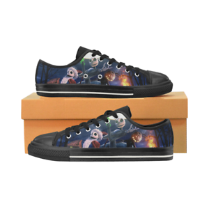 Nightmare Before Christmas Low Top Sneakers Classic Canvas shoes for Women