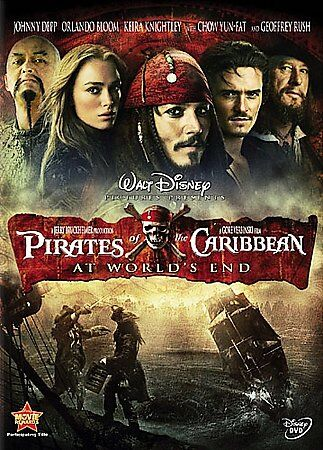 Pirates Of The Caribbean At Worlds End DVD, 2007  - $0.99
