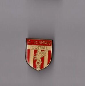 pin-039-s-football-Blason-AS-Cannes-epoxy-hauteur-2-8-cm
