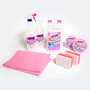 Quick N Brite Multi Purpose Cleaner Complete Set As Seen On Tv