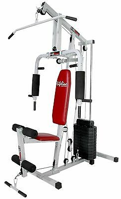Branded Lifeline Home Gym Square Pipe 150 Lbs Wt Stacks. 21 Typ Exerciser Machin