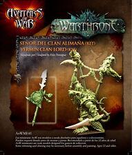 Avatars of War - Vermin Clan Lord - Skaven - Warhammer Character - AOW41