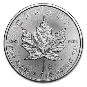 2015 Canada 1 oz Silver Maple Leaf BU - SKU #84923