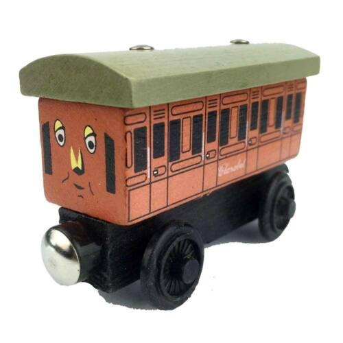 Clarabe/&Annie Set Wooden Magnetic The Tank Engine Railway Train Cars Kids Toy//