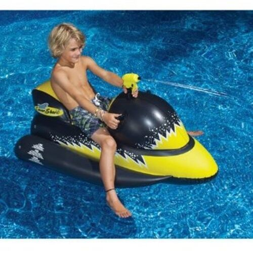 Jet Ski Bike Inflatable Water Park Pool Raft Float Bouncy Play