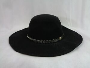 INC International Concepts Women s Black Chain Band Floppy Hat One ... ba3954af133f