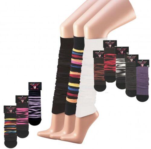 Stulpen für Bein /& Arm für Teenager und Damen Trend Farbe /'1 Paar/' CH-2723