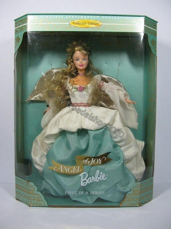 N22) Mattel Barbie Doll Angel of Joy First in Series Collector Edition 1998