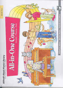 Alfred Basic Piano All-in-one Course Book 1-afficher Le Titre D'origine Achat SpéCial