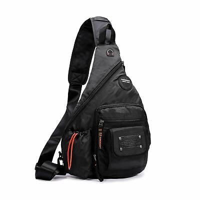 Chest Pack One Shoulder Crossbody Sling Bag Riding Hiking Backpack Sports Travel