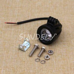 Brand-New-CREE-LED-10w-10-30-Volt-DC-6000K-40-C-60-C-IP67-50000-hours-Black