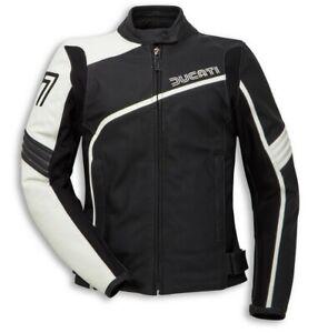 DUCATI Dainese 77 Retro DAMEN Lederjacke Leder Jacke LeatherJacket Lady NEU 2020