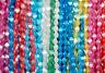 Pinch Beads Doppelpyramiden Glasperlen ca. 5x3 mm über 350 Stück Regenbogenmix