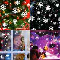 Christmas Snow Flake Removable Art Vinyl Window Door DIY Sticker Wall Decor RTR