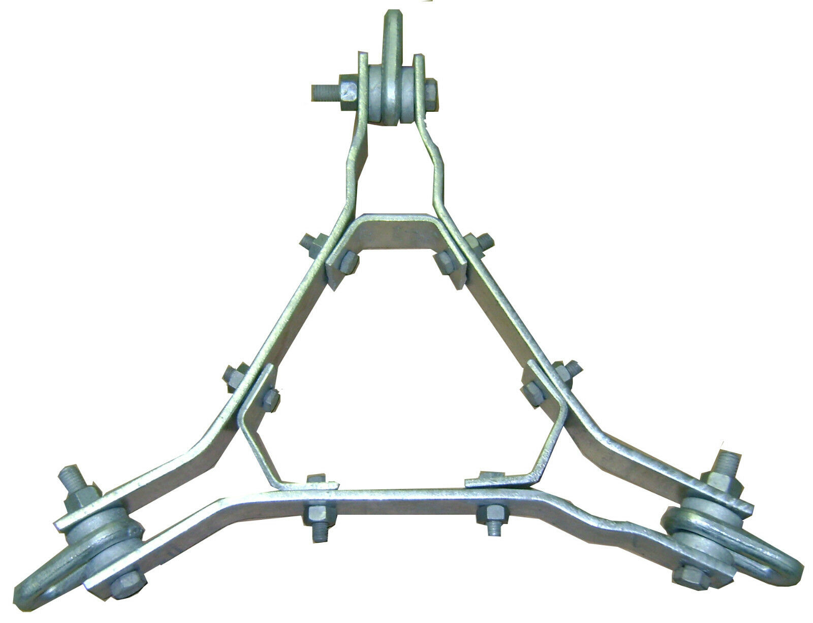ROHN 25G Guy Bracket Assembly with Hardware - GA25GD - ROHN Tower . Available Now for 225.00