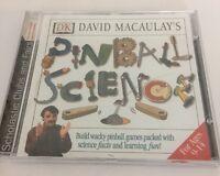 Dk David Macaulay's Pinball Science Games Cd Rom Game Software Scholastic Clubs