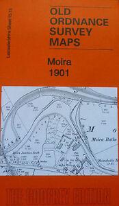2019 Nouveau Style Vieux Ordnance Survey Map Moira 1901-afficher Le Titre D'origine