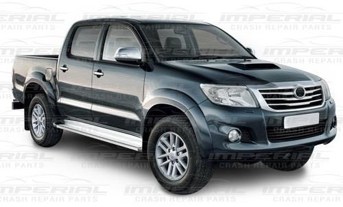 Drivers Front Wing No Indicator Hole With Flare Hole O//S RIGHT Toyota Hilux