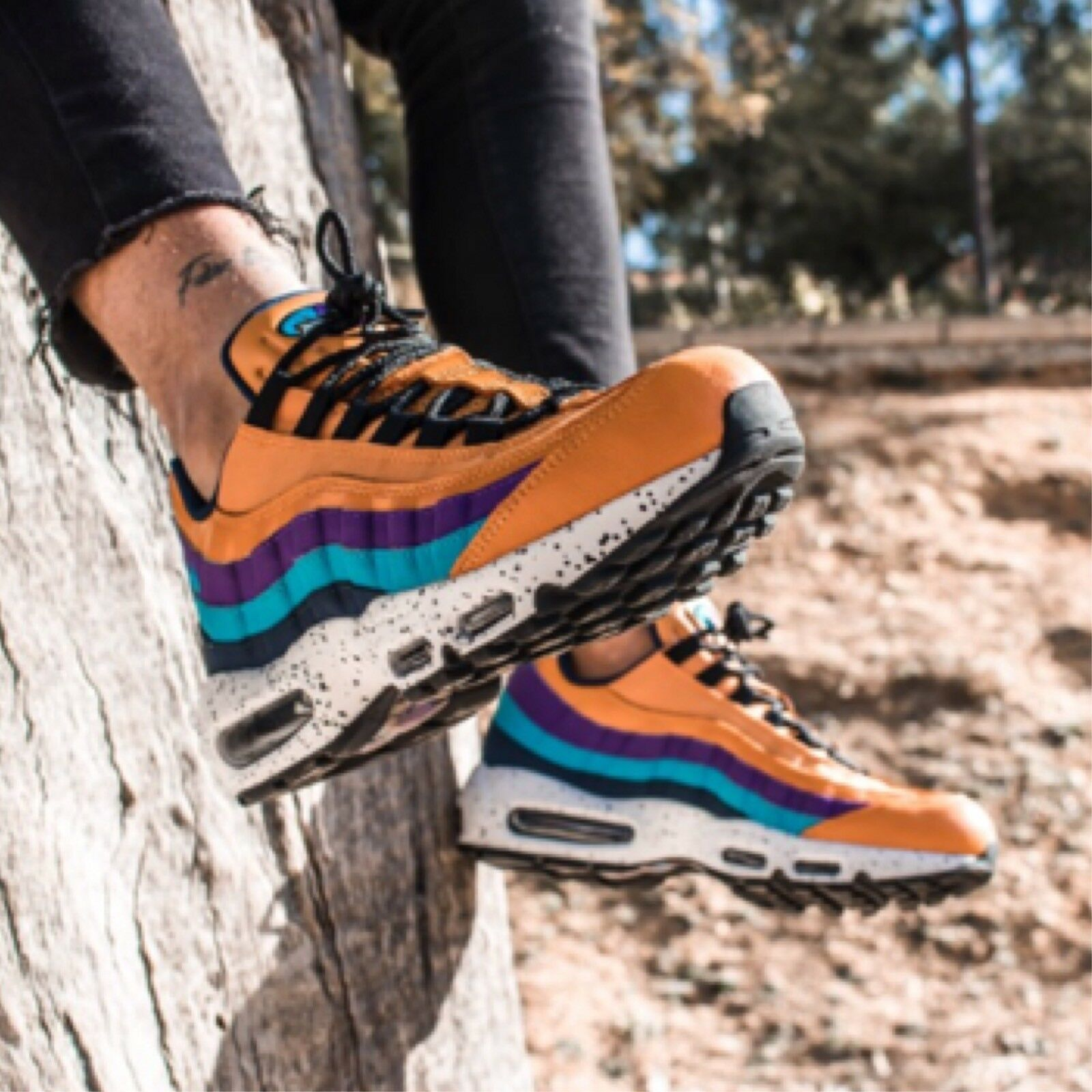 Nike Nike Nike Air Max 95 Prm Homme Baskets Taille 810c0d