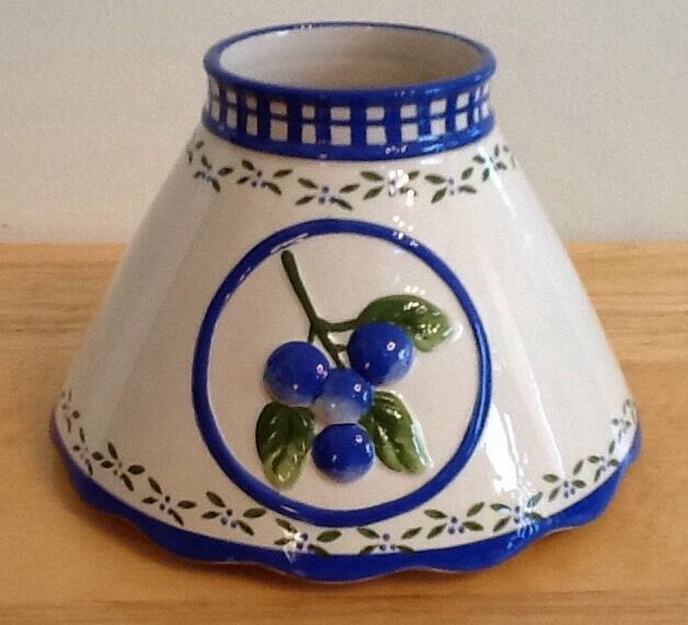 Valerie Parr Hill Candle Shade Blueberries