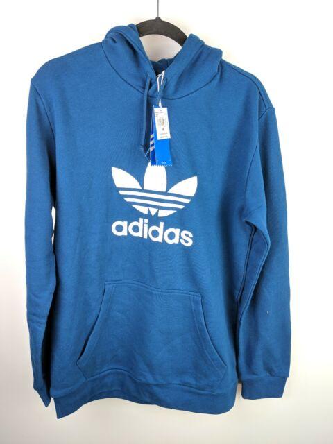 adidas trefoil pullover hoodie