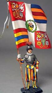 Painted Tin Toy Soldier Pope Francis 54mm 1//32