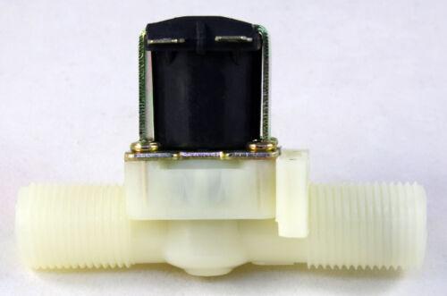 1//2 inch NPS Thread 110V-120V AC GRAVITY-FEED Plastic Nylon Solenoid Valve