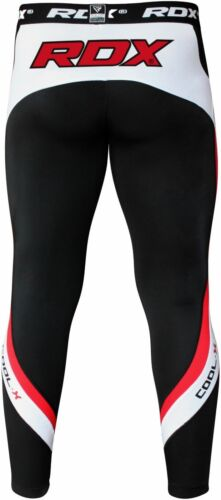 RDX Thermal Compression Pants Groin Cup Guard MMA Boxing Men Tights Muay Thai C